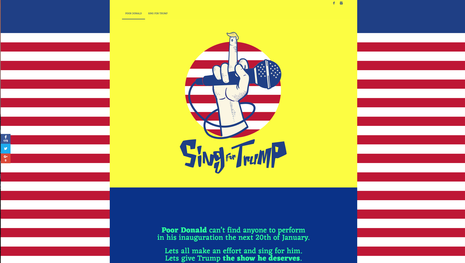 Sing for Trump