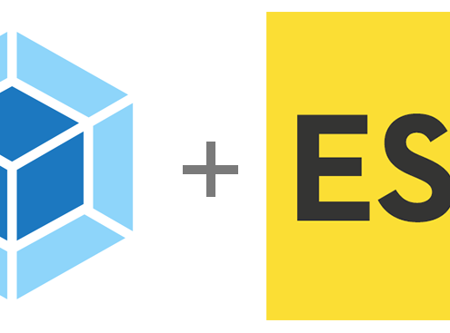 webpack with es6